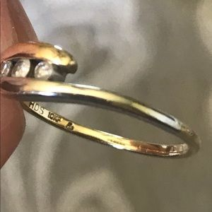 COPY - 10k. Gold/Silver Ring